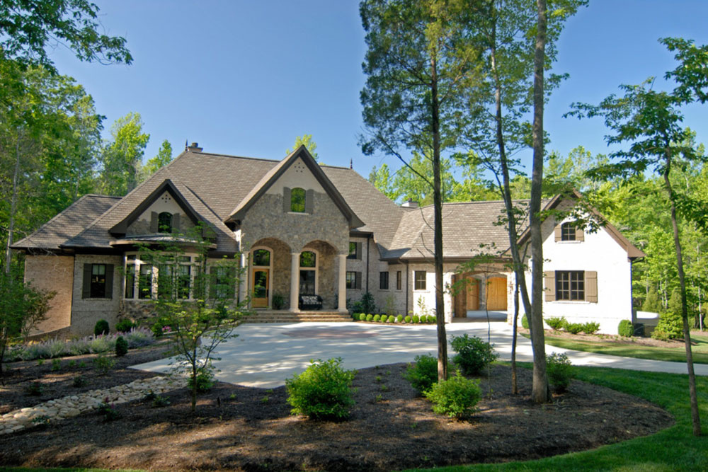 Maple grove home in oyster pearl by pippin home design for Pippin home designs
